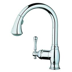 GROHE 33 870 000 Bridgeford Dual Spray Pull-Out Kitchen Fauc