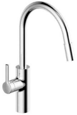 KWC 10.441.003.000 Luna-E Kitchen Faucet with Pull-Out Spray