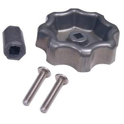 DANCO Universal Outdoor Faucet Handle, Metal, 1-Pack