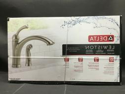 Delta 11926-SS-DST Lewiston Single Handle Kitchen Faucet wit
