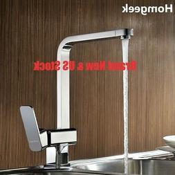 1pc Modern Kitchen Faucet Spout Pull Down Sprayer Deck Mount