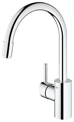 Grohe 3134900E Concetto Single Handle Pull-Down Spray Kitche