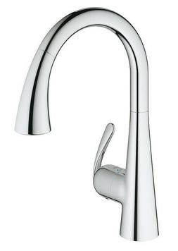 Grohe 32298001 Starlight Chrome LadyLux3 Cafe Kitchen Faucet
