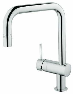 Grohe 32319000 Minta Pull-Down Kitchen Faucet with 2-Functio