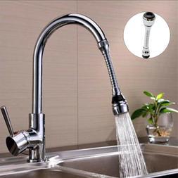 360 Degree Faucet Nozzle Sink Mixer Swivel Tap Aerator Dual
