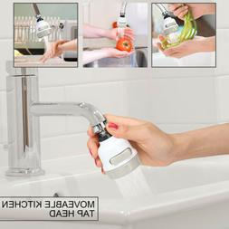 360 DEGREE ROTATING FAUCET Moveable Kitchen Tap Head Water S