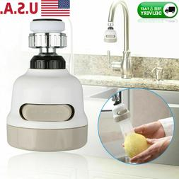360° Rotatable Moveable Kitchen Tap Head Faucet Water Savin
