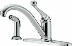 Delta 400-BH-DST Classic Single Handle Kitchen Faucet with S