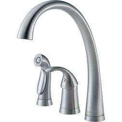 Delta 4380-AR-DST Pilar Arctic Stainless Single Handle Kitch