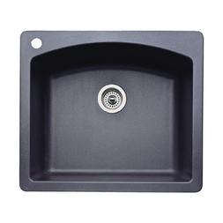 Blanco 440210 Diamond Single-Basin Drop-In or Undermount Gra