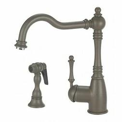 Blanco 441189 Grace Kitchen Faucet with Side Spray, Café Br