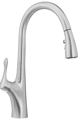 Blanco 441507 Napa Pullout Spray High-Arc Kitchen Faucet, St