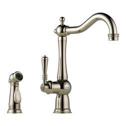 Brizo Kitchen Faucet Polished Nickel | Kitchen-faucet