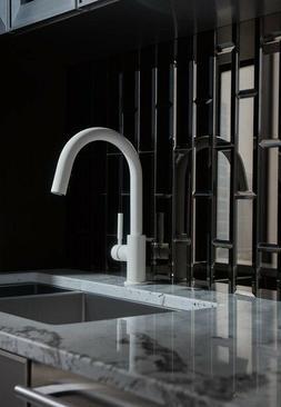 BRIZO 63020LF-WM NEW matte white kitchen faucet Kohler Delta