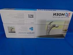 Moen 87039SRS One-Handle Pullout Kitchen Faucet, Spot Resist