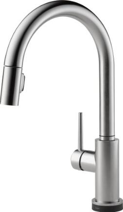 Delta Faucet Trinsic Single-Handle Touch Kitchen Sink Faucet