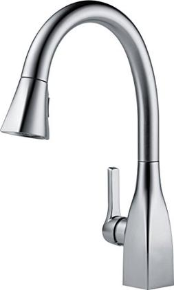 Delta Faucet Mateo Single-Handle Kitchen Sink Faucet with Pu