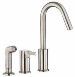 Danze Amalfi Single-Handle Kitchen Faucet with Side Spray St