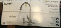 New Kohler Barossa R78035-SD-VS Stainless Touchless Kitchen