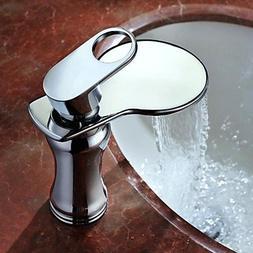 BiuTeFang Basin Tap AZOS Modern Single Handle Bathroom Basin