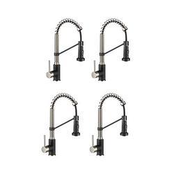 """Kraus Bolden 18"""" Commercial Single Handle Kitchen Faucet w/P"""