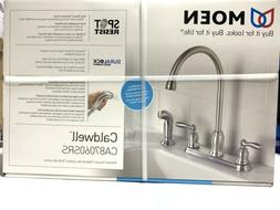 Moen CA87060SRS High-Arc Kitchen Faucet with Side Spray from