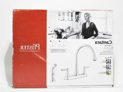 Pfister Cantara Kitchen Faucet with Side Sprayer in Polished