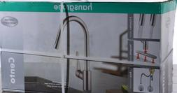 New ! Hansgrohe Cento High Arc Kitchen Faucet Steel Optik Fi