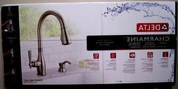 Delta Charmaine Pull-Down Kitchen Faucet Brilliance Stainles