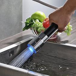 Rozin Chrome Finish LED Light Spray Head Kitchen Faucet Repl
