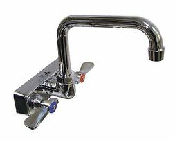 Advance Tabco Chrome Kitchen Faucet, Manual Faucet Operation