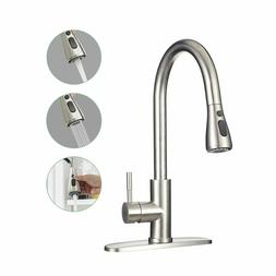 Commercial Kitchen Faucet Stainless Steel Single Handle with