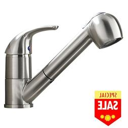 VESLA HOME Commercial Stainless Steel Single Handle Pull Dow