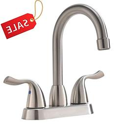 commercial two handle stainless steel