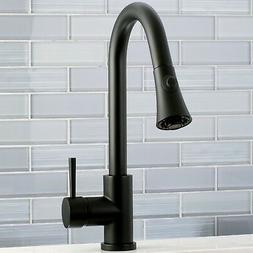 Kingston Brass Concord Pull Down Single Handle Kitchen Fauce