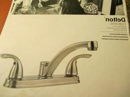 Pfister Delton 2-Handle Standard Kitchen Faucet in Stainless