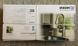 Moen Edwyn Stainless 1 Handle Pulldown Kitchen Faucet + Soap