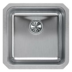Elkay ELUH1616 Gourmet 18-1/2 x 18-1/2 Single Basin Undermou