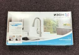 MOEN Essie Touchless Pulldown Sprayer Kitchen Faucet in Spot