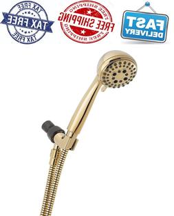 Delta Faucet 5-Spray Touch-Clean Hand Held Shower Head with