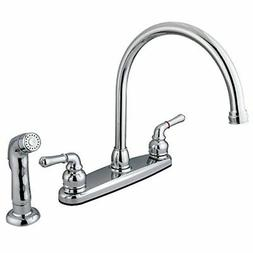 Kingston Brass FB791SP 8-inch Centerset Kitchen Faucet