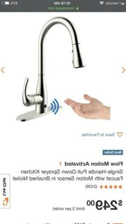 FLOW Faucet by BioBidet, Hands Free Motion Sensing Technolog