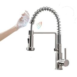 Friho Lead-Free Brushed Nickel Kitchen Faucet Stainless Stee