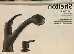 Pfister FWKP701B Shelton 1-Handle Pull-Out Kitchen Faucet wi