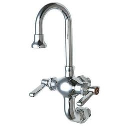 CHICAGO FAUCETS GN Kitchen Faucet,2.2 gpm,5-1/4In Spout, 50 ...
