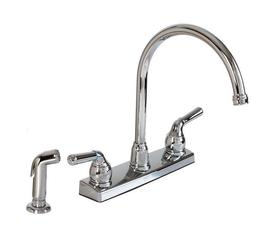 Hardware House 122009 2-Handle Non-Metallic Kitchen Faucet w