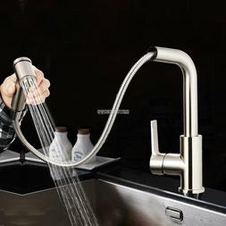 High Performance Single Handle Kitchen Tools Pull Out Faucet