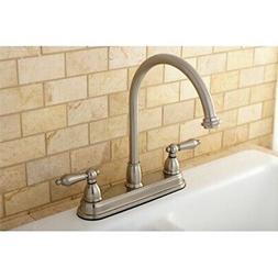Kingston Brass High Spout 2-handle Kitchen Faucet - Bath Fix