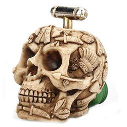 Home Kitchen Sink Faucet Filter Carved Skull Water Tap Fauce