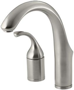 KOHLER K-10443-VS Forte Entertainment Kitchen Sink Faucet, L